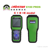 Wholesale Model Auto Bmw - 2017 Hot Sael OBDStar Auto Key Programmer X100 PROS C + D +E model x-100 pros Odometer correction tool Free Shipping