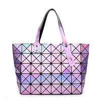 Wholesale Best Handbag Brands For Women - Wholesale-New hollywood trend women high quality brand designers handbags holographic bao bao bag,best gift for her