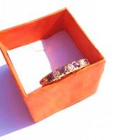 Wholesale Sapphire Gold Filled - Women's Beautiful Jewelry light Sapphire White Gemstone Jade 14KT Yellow Gold filled Wedding Ring