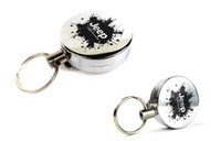 Wholesale Ring Pull Opener - High Resilience retractable rope key ring anti lost alarm anti lost keychain key chain retractable pull reel