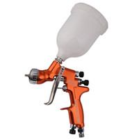 Wholesale New Devilbiss HD HVLP Spray Gun Gravity feed mm Topcoat Touch Up Paint Cup for all Auto Paint W T ml CUP