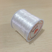 ingrosso braccialetto del filo dei branelli diy-60 m / rotolo 0.8 mm nylon filo di cristallo filo elastico corda elastica perline cavo gioielli fai da te artigianato cancella perline filo risultati dei monili