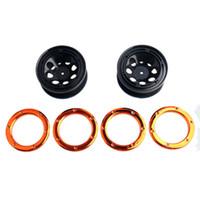 Wholesale Buggy Mounts - RC HSP 18014 Wheel Rim 2P & Metal mounting ring HSP 94180 1 10 4WD Rock Crawler