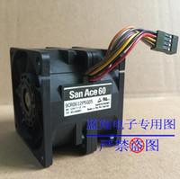 şiddetli fan toptan satış-Orijinal SANYO 6050 6 CM 12 V 2.7A 9CR0612P5G05 yüksek hız araba süperşarjlı şiddetli fan