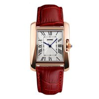 Wholesale New Korean Fashion Trend - New leather belt high-end watch female models fashion students trend Korean version of the quartz watch ladies watch