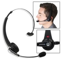 Wholesale Playstation Black - Bluetooth Headset for Sony PS3 Playstation 3 Wireless Bluetooth Gaming Headset Headwear Earphone wtih Mic BTH-068 for PS3 PC Smartphones