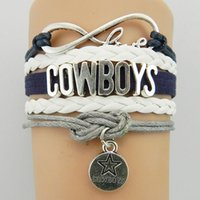 Wholesale Infinite Leather Bracelets - Women Infinite Cowboy Braided Weave multi-layer Leather Rope Leisure Bracelet