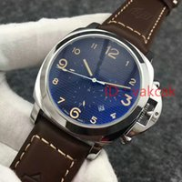 Wholesale Daylight Watch - Factory Supplier Luxury Wristwatch Stainless Steel Black Dial Automatic Mechanical Mens Men's Watch Watches RARE Daylight 236 00236 Pam236