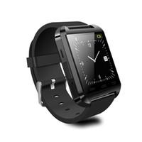 сотовый телефон часы android оптовых-U8 Smart Watch Bluetooth высотомер анти-потерянный 1,5-дюймовый наручные часы U часы для смартфонов iPhone Android Samsung HTC Sony сотовые телефоны