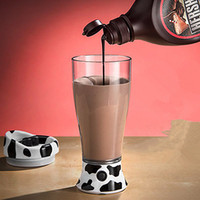 Wholesale Electric Cow - Wholesale- Cute Milk Cow Design 14OZ Electric Whey Protein Powder Shaker Blender Cup Automatic Movement Bottle 400ml BPA My Water Bottle