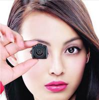 Wholesale Smallest Cmos Camera - Free shipping Y2000 Smallest Mini Camera HD 480P DV DVR Mini Cam Portable Camcorder PC Webcam Micro Camera