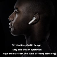 Wholesale Bluetooth Earbuds Microphone - fashion Mini Bluetooth wireless earphones earphone Earbuds Invisible With Mic microphone Stereo headphone for Iphone 7 Samsung Android