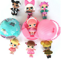 Wholesale Christmas Mini Dress For Babies - Surprise Doll LOL Baby Dolls Lovely kids Dress up toys Unpacking Dolls Up Toys Surpris Funny Gift for Christmas C2718