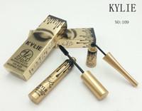 Wholesale Matte Eyeliner - Kylie Jenner cosmetics Makeup 3D Fiber Lash Mascara+ Gel Eyeliner 2 in 1 Waterproof Free Shipping