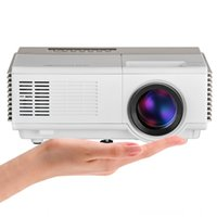 Atacado- CAIWEI Mini LED Projector WiFi Android Cheap Video Projector Home cinema portátil para laptop TV Leitor de DVD