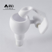 Wholesale Arms Swivels - Ceramic Honey Bucket 14mm & 18mm Male Female Joint Domeless Ceramic Nail 2 In 1 Swing Arm Swivel Dab Rigs 255