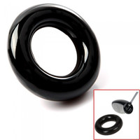 Barato Power Club Atacadista-Atacado - Black Round Peso Power Swing Ring para Clubes de Golfe Warm up Training Aid