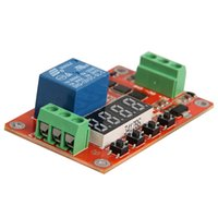 Wholesale Locking 12v Switch - new 12V DC Multifunction Auto-lock Relay PLC Cycle Timer Time Delay Switch Module