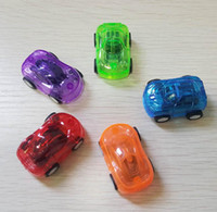 Wholesale Baby Big Wheel - 100pcs lot Baby Toys Pull Back Cars Plastic Cute Toy Cars for Child Wheels Mini Car Model Funny Kids Toy for Boys