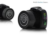 Wholesale Digital Voice Recorder Camcorder - Mini Camcorder HD Pocket mini DV Webcam Video Voice Recorder Micro Cam Smallest Camara Spy Hidden Digital Video Camera black 50pcs