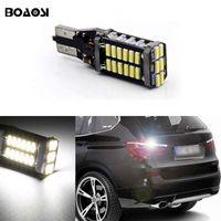bmw led ampuller toptan satış-T15 W16W Canbus 6000 k Xenon Beyaz 30SMD LED Yedekleme Ters Işıklar ampul Için BMW 5 Serisi E60 E61 F10 F11 F07 Mini Cooper