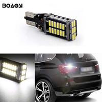 ingrosso bmw ha condotto le lampadine-T15 W16W Canbus 6000k Xenon bianco 30SMD LED lampadina di retromarcia di backup per BMW 5 serie E60 E61 F10 F11 F07 Mini Cooper