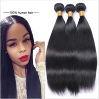 Wholesale One Piece Hair Extensions Wholesale - Factory Supplier Brazilian Indian Hair 3 bundle of Silky Straight Weave 12 inch Human Hair Extensions only one set is on wholesale price