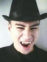 ingrosso protesi zombie-Orecchito Vestito Vampiro Denti Dentali Protesi Dentale Props Vampiro Zombie Devil Fangs Denti