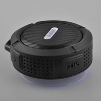 usb altavoces inalámbricos de pc al por mayor-NUEVA Bluetooth Mini portátil inalámbrico USB Speaker C6 ducha impermeable caja de sonido altavoz Boombox Subwoofer para Laptop / PC / MP3 / MP4