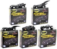 Batman Chariots Full Set Colecção Modelo Car Lead Alliage ABS Plastic Children's Christmas Gifts Brinquedos 10PCS / Box DHL grátis