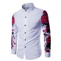 a084735b219f mens casual cotton button down shirts NZ - New Mens Shirt Cotton Casual  Long Sleeve Button