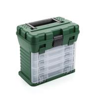 европейский чемодан оптовых-Оптовая торговля-Европейский и американский профессиональный рыболовные снасти / рыболовная коробка / точность хранения частей / главная чемодан / ящик