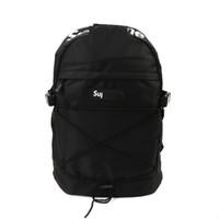 Wholesale Backpack Rain Cover Bag - Brand Sup 16SS TONAL 40TH BACKPACK Backpack White branche Backpack Gift Original Rain Cover Nylon Backpacks Unisex Street 3m reflective bag