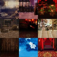Wholesale Palace Glass - 2017 Props Backdrops 8X10ft Vinyl China Style Palace Photos Scenic Camera Backdrop Portrait Backgrounds Computer Printed Photography 291