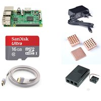 Wholesale Mitsubishi Starter - NOOBS Starter kit for Raspberry Pi 3 Model B with 16G SD Card