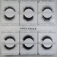 1 par / caixa 15mm Handmade 100% Cavalo Pêra de pêlos de peles Horsehair Fake Eye Lash Extension Sexy Thick Crisscross Eyelash Full Strip Eye Lashes