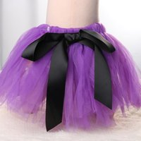 Wholesale Baby Girl Photography Outfits - Wholesale- 1Set Infant Newborn Baby Girl Flower Headband Matching Princess Tutu Skirt Costume Outfit Set Photography Prop Hair Accessories