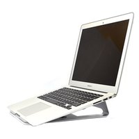 Wholesale Base Cool Laptops - Wholesale- Fashion aluminum flat-panel computer bracket flat bracket cooling base bracket for 14.1 inch Jumper EZbook 2 Ultrabook Laptop