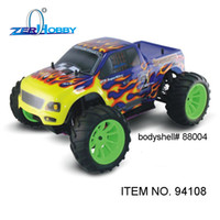 Wholesale Hsp Car Nitro Road - Wholesale- rc car hsp 1 10 nitro gasoline 4wd off road universal rtr monster truck (item no. 94108) - GLO STARTER INCLUDED