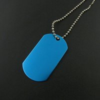 Wholesale Dog Leather Goods - Good Quality Quick Delivery Custom Wholesale Cheap Fashion Anodized Blank Aluminum Blue Paw Shape Dog Tag