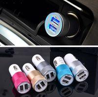 китайский универсальный сотовый телефон зарядное устройство оптовых-Пять цветов хорошее качество автомобильное зарядное устройство адаптер данных зарядки