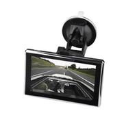 igo gps großhandel-5-Zoll-Auto-GPS-Navigation mit Kapazität Bildschirm SAT NAV Auto GPS-Navigationssystem X5 Bluetooth Multimedia Player in Lifetime IGO Karte gebaut