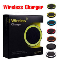Wholesale mini x pad for sale - Group buy S6 Qi Wireless Charger Pad Stand Mini Charge Pad For Qi abled device Samsung htc lg for iphone x