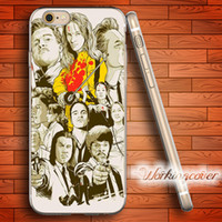 Wholesale Iphone Cover Bill - Coque Quentin Tarantino Kill Bill Soft Clear TPU Case for iPhone 6 6S 7 Plus 5S SE 5 5C 4S 4 Case Silicone Cover.