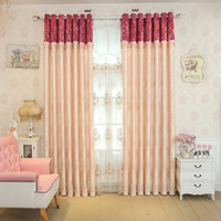Wholesale Living Room Valance Curtains - Curtain Simplicity European Style Living Room Window Curtain Valance Curtain Multi Colors Printing Patterns Sold Per Meters