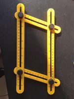 Wholesale Ultimate Abs - Multi-Angle Ruler Angle-Izer rulers Ultimate Tile & Flooring Template rule Multi Functional Ruler Cut Ruler ABS Material,