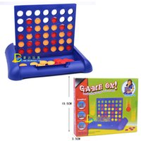 Wholesale Bingo Game - Blue - Plastic Children Chess Educational Toy Parent-Child Bingo Game Intelligence Training Chess for Kids