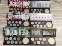 Wholesale Famous Princesses - 2017 Famous M power hungry mischief minx prissy princess rockin' rebel basic bitch fashion fanatig eyeshadow palette makeup free shopping