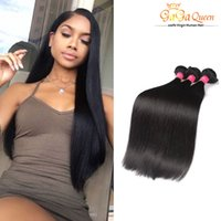 Wholesale cheap silky human hair weave online - Brazilian Straight Virgin Hair Cheap Brazilian Human HairWeave Silky Straight Hair A Brazilian Straight Hair Extensions No Tangle