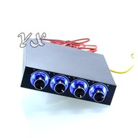 Wholesale hdd vga resale online - new STW Channel Speed Fan Controller with Blue LED GDT Controller and CPU HDD VGA